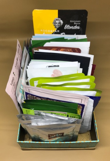 My Sheet Masks pile