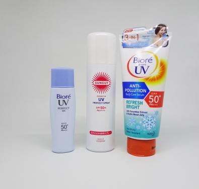Biore Sunscreens