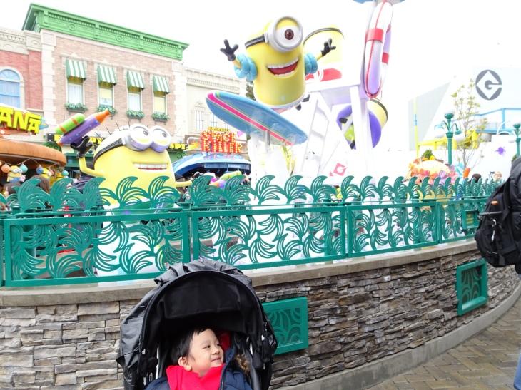 The minion park