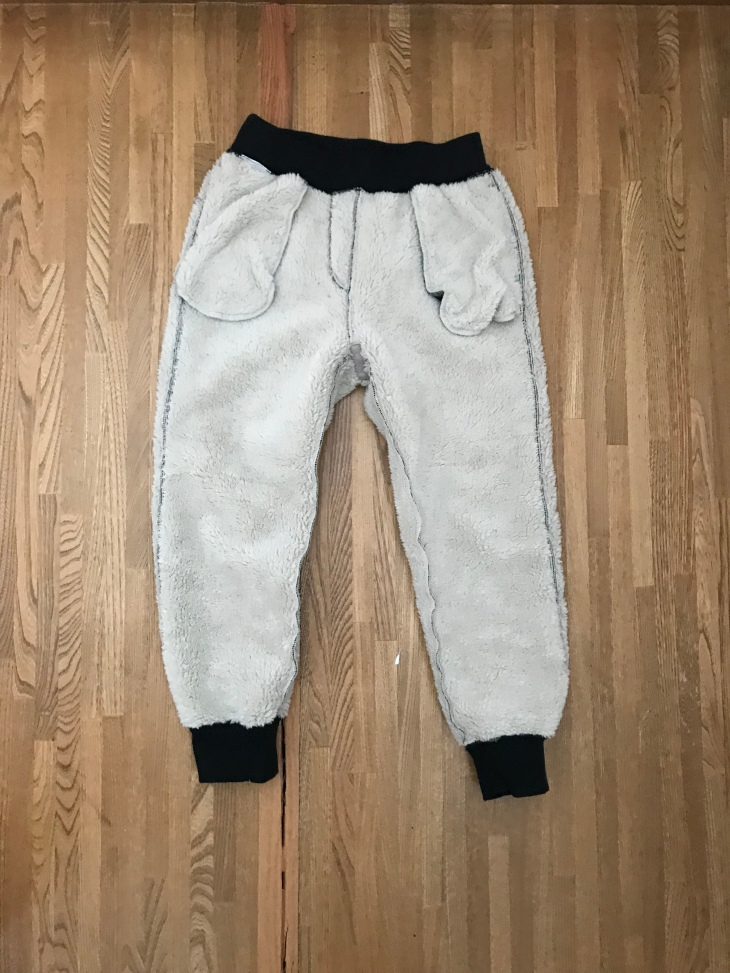 Uniqlo fuzzy Pants for kids