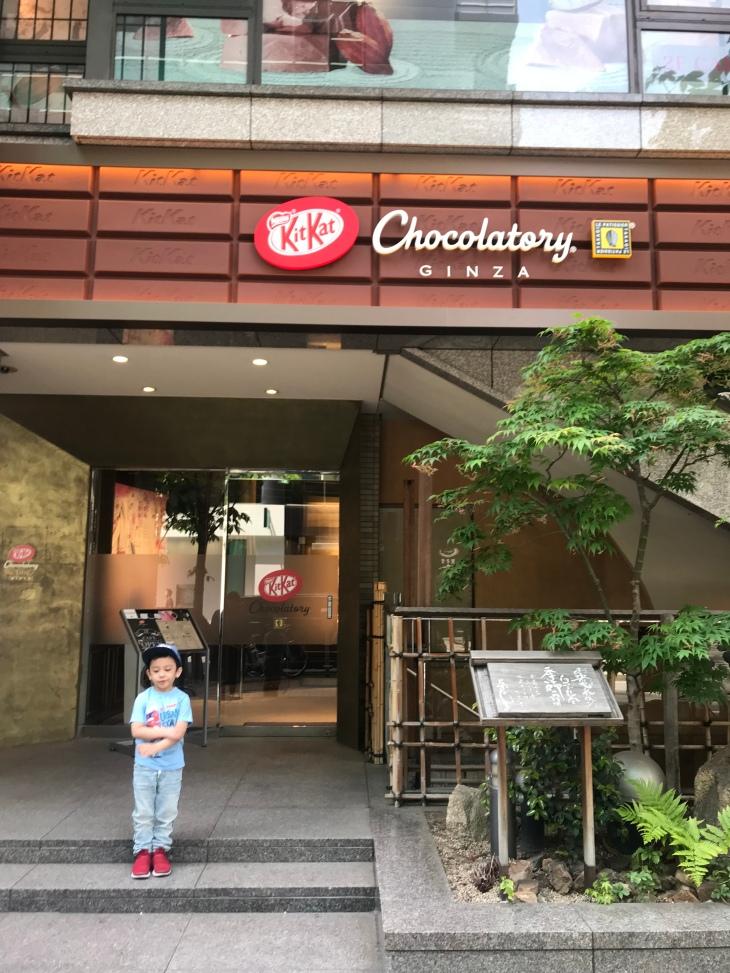 Kit Kat Chocolatory and café