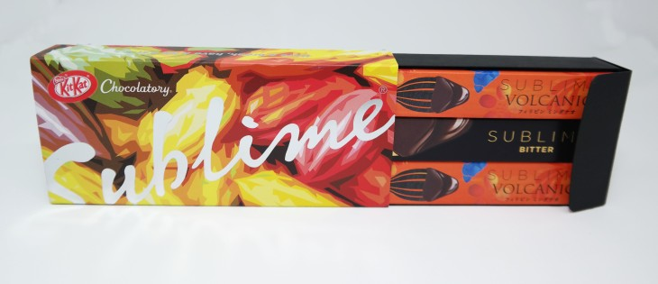 KIT KAT Chocolatory Sublime Volcanic 3-piece Gift Box